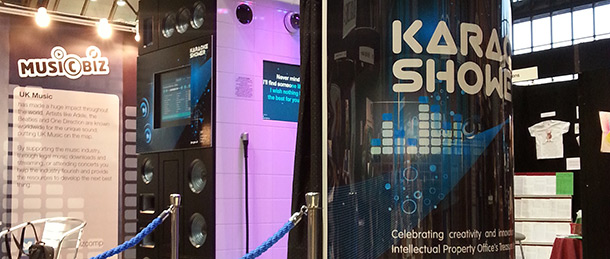 Visit the karaoke shower at the Big Music Project in Glasgow