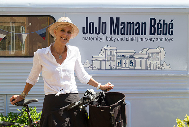 Laura Tenison, founder of baby clothing retailer JoJo Maman Bébe