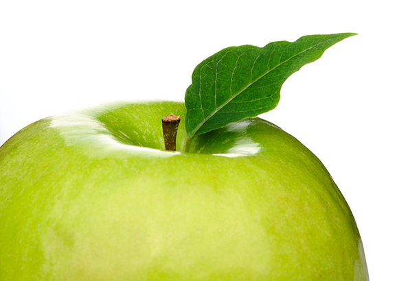 Green apple - image licensed by Ingram Image