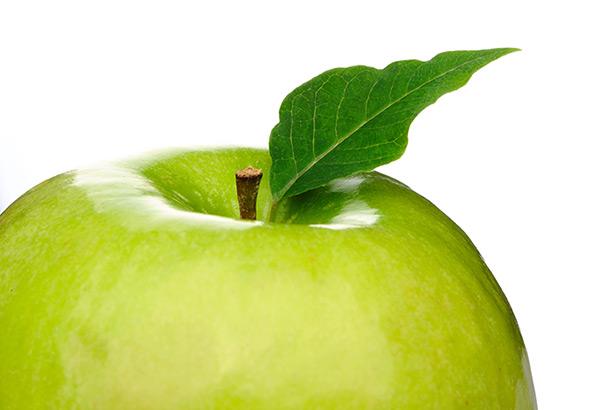 Green apple - image licensed by Ingram Image