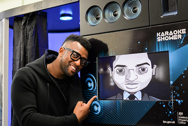 Oritsé Williams - artistic ambassador for Music Inc
