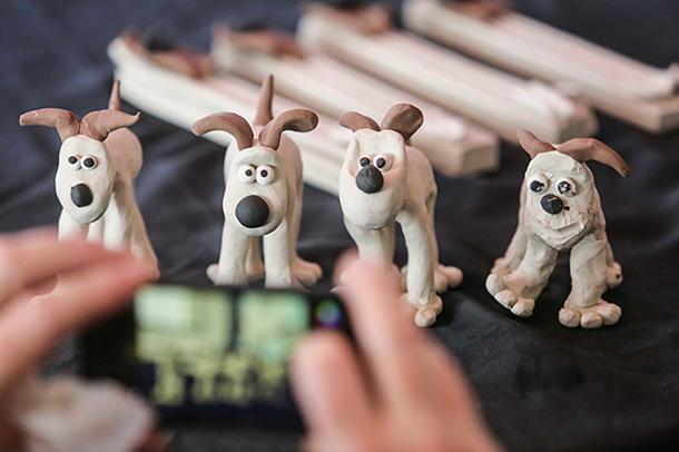 Clay model of Gromit (from Wallace and Gromit)