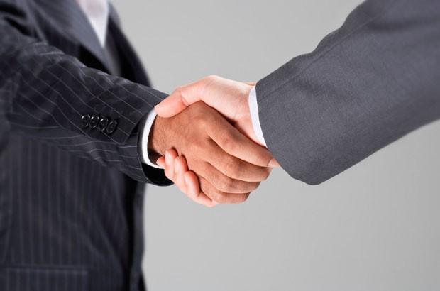 Image of a handshake.