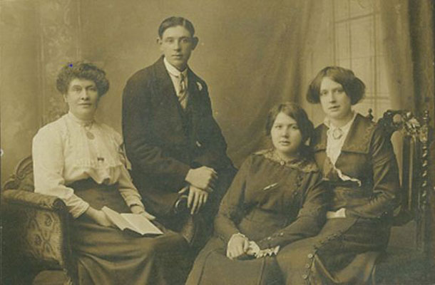 Image of old family photo.