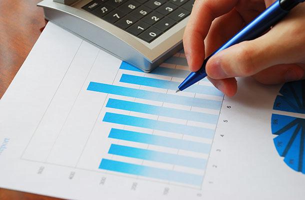 Generic image of someone analysing data.