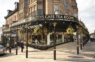 Betty's of Harrogate (UK trade mark 2011278) home of Yorkshire Tea.