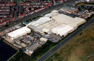 Image of Fleetwood factory.