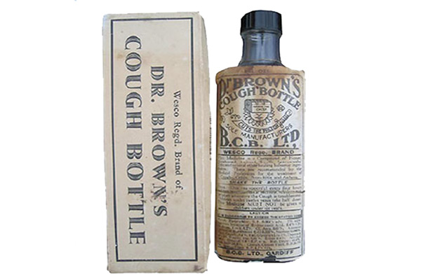 Dr Brown's Cough Bottle