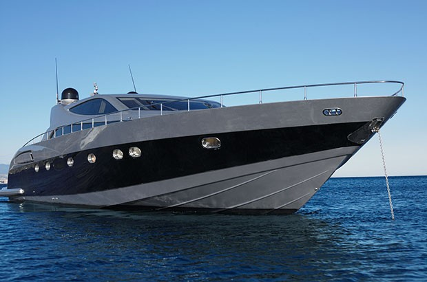 Image of luxury yacht.