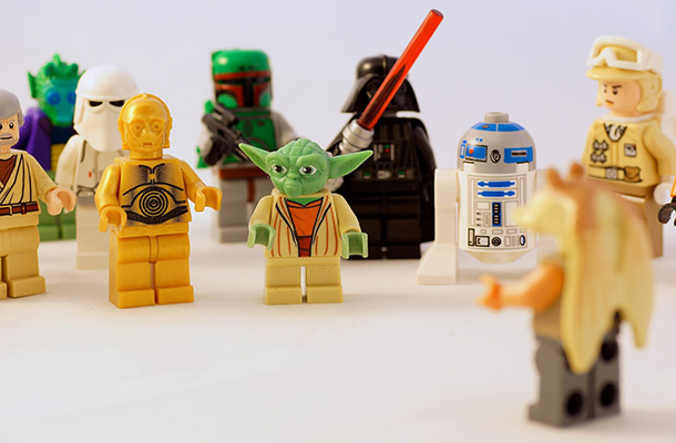 Picture of lego star wars figures