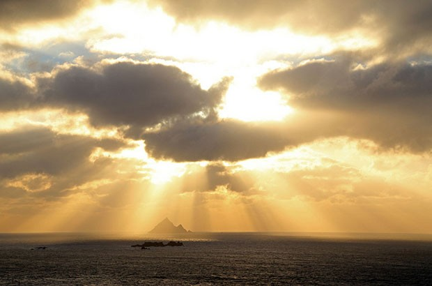 Image of Skellig Michael landscape