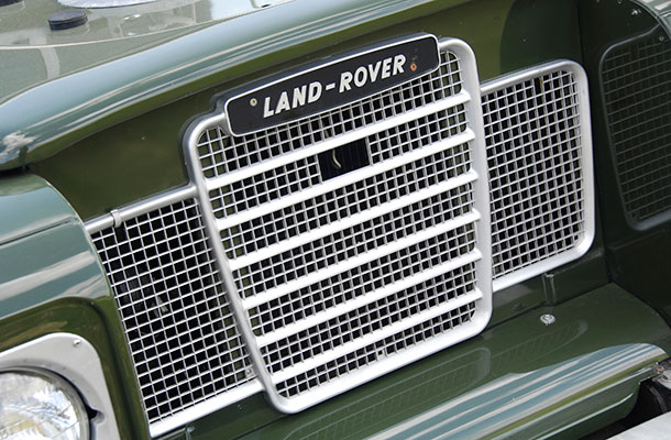 Built to last, image of an old Land Rover.