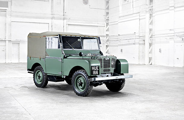 Image of Land Rover number 1.