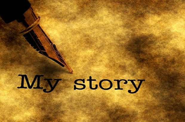 My story text image.