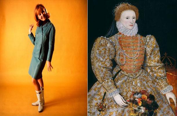 Image of Lulu and Queens Elizabeth 1.