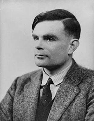 Image of Alan Turing.