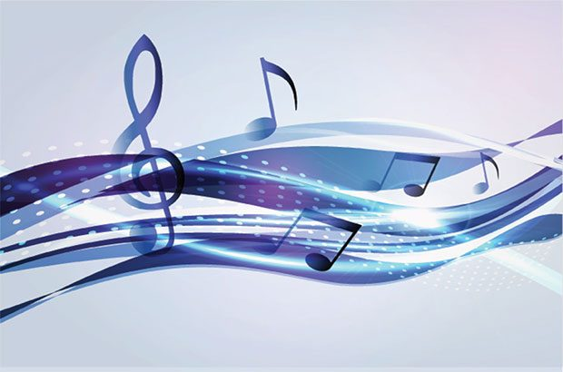Printed music digital image.