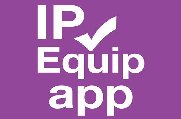 IP Equip logo.
