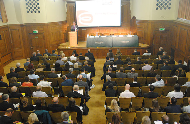 Chief Executive, Phil Buckle, at last year's product safety conference.