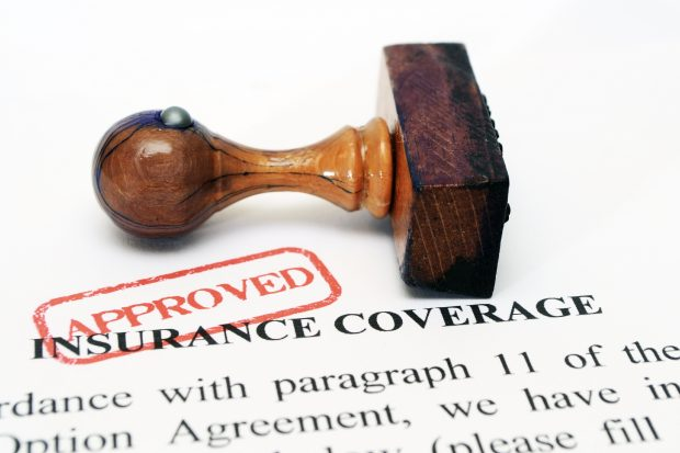 Insurance coverage document.