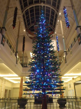 ©Bright Bricks - It doesn't grow on trees - LEGO® Christmas tree by Bright Bricks at Manchester's Trafford Centre.