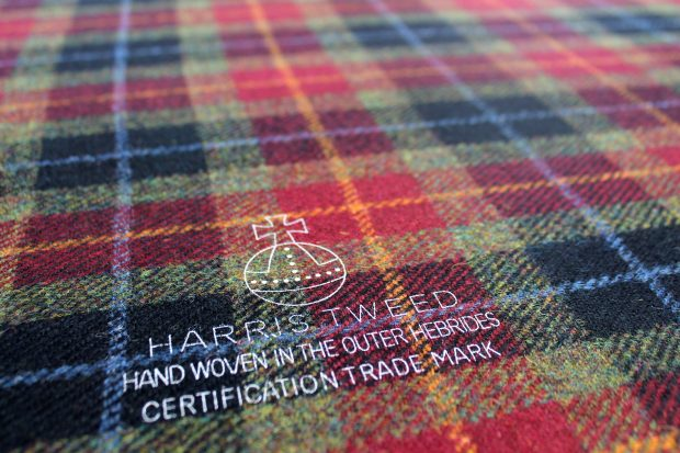 Only genuine Harris Tweed carries the orb Certification Mark (© Harris Tweed Authority Jane McMillan)