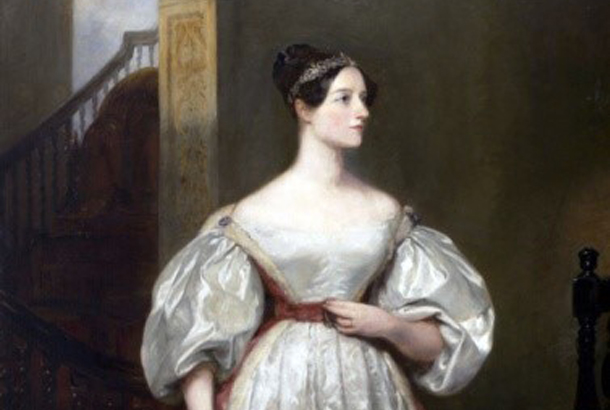Visionary Ada Lovelace, reputedly the author of world's first computer programmer, defied her context. She was introduced to Charles Babbage by Mary Somerville, her tutor. (Portrait of Ada Lovelace by Margarete Sarah Carpenter ©Government Art Collection DCMS)
