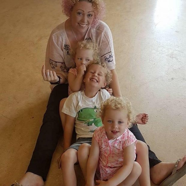 Emma and children.