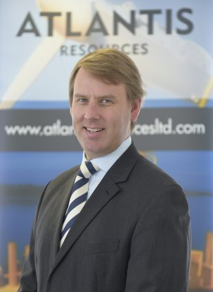 Tim Cornelius, CEO of Atlantis Resources