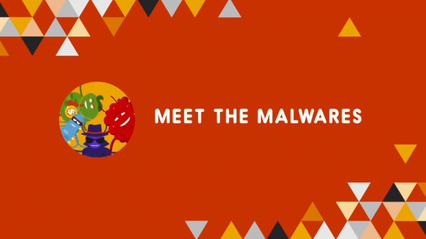 Meet the Malwares logo