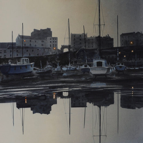 Hyper-real – Naomi Tydeman's First light on the harbour
