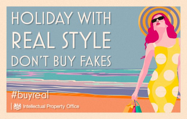 Holiday with real style, don't buy fakes