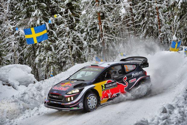 Elfyn Evans 2018 Rally Sweden