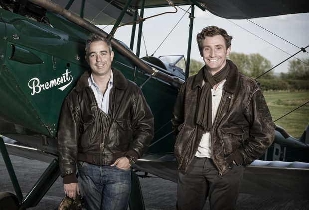 Nick and Giles English with the 'Bremont'® trade mark