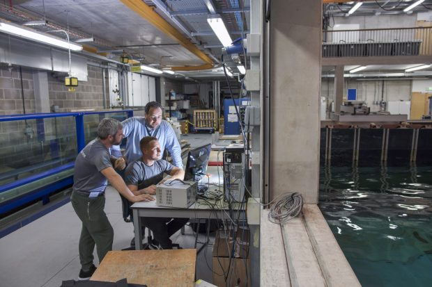 Reef Cube® testing at Plymouth University®