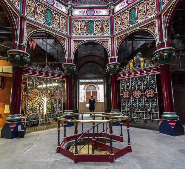 Bazalgette's Crossness Pumping Station completed in 1866