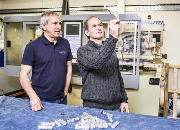 Ben and Pete Kibel, European Patent Office Inventor Award nominees