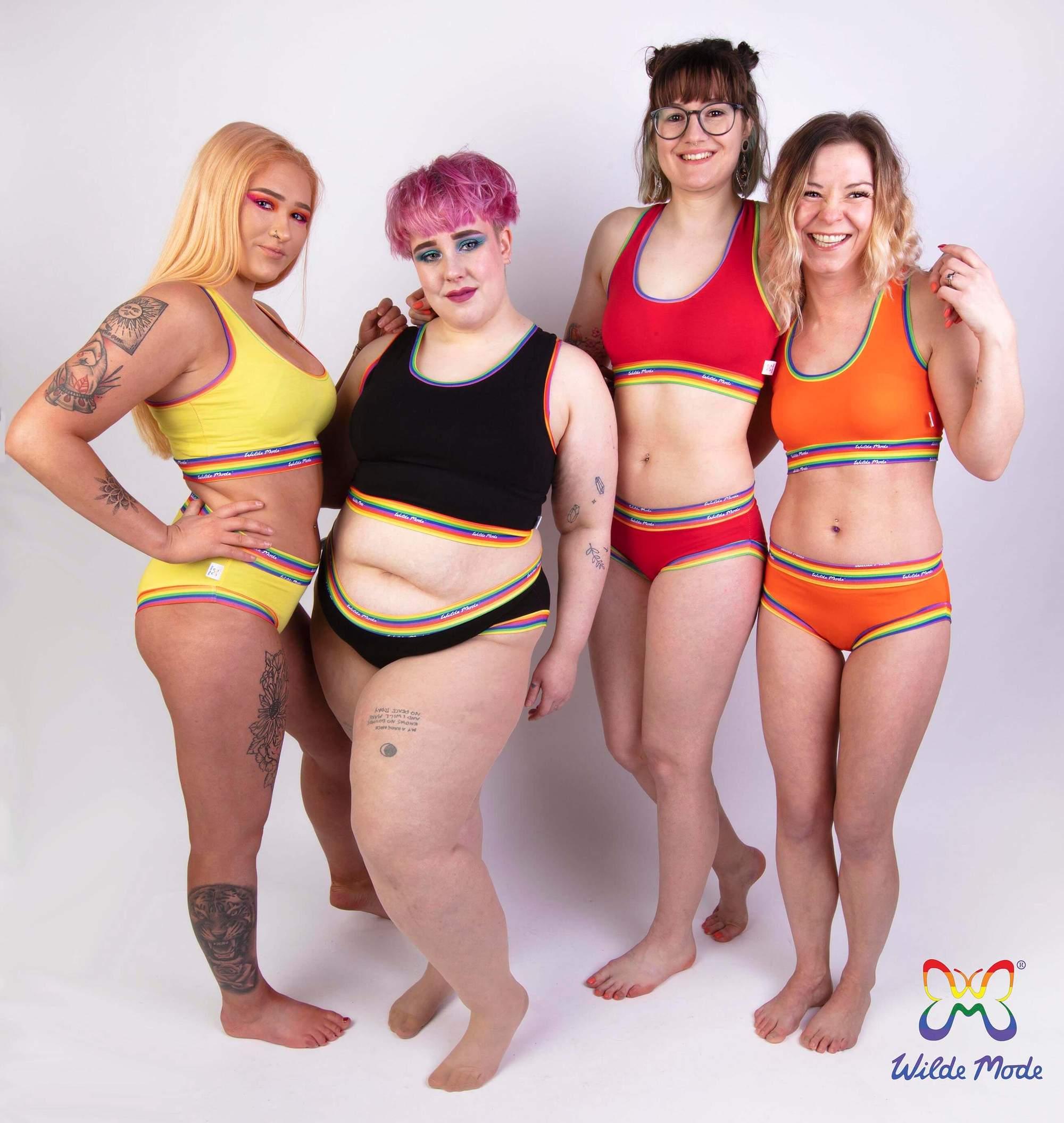 Wilde Mode Rainbow Briefs